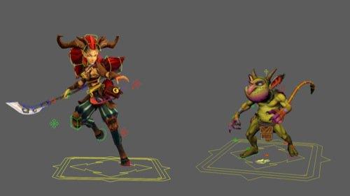 Personagens gratuitos para jogos com rig no Maya