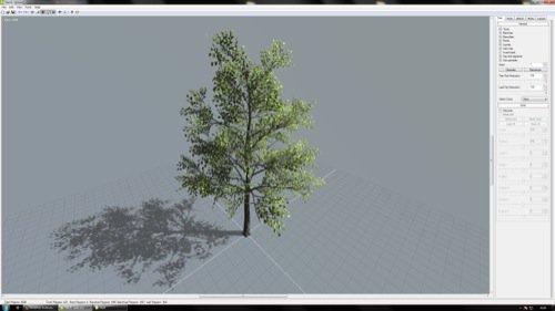 Software gratuito cria árvores 3D para jogos e arquitetura