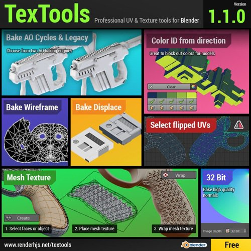 TexTools atualizado para versão 1.10