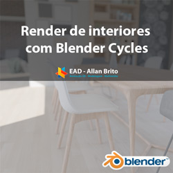 Render de interiores com Blender Cycles