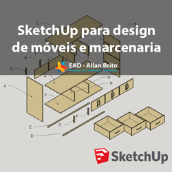 Aprenda a usar o SketchUp para design de móveis