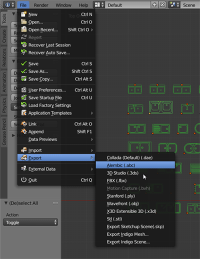 conversão de arquivos DWG para DXF