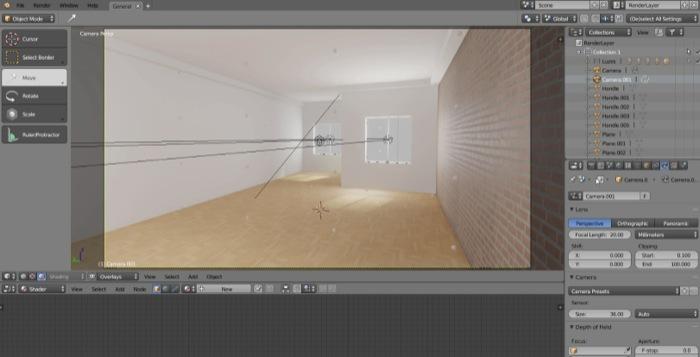 Workshop de renderização com Eevee no Blender 2.8