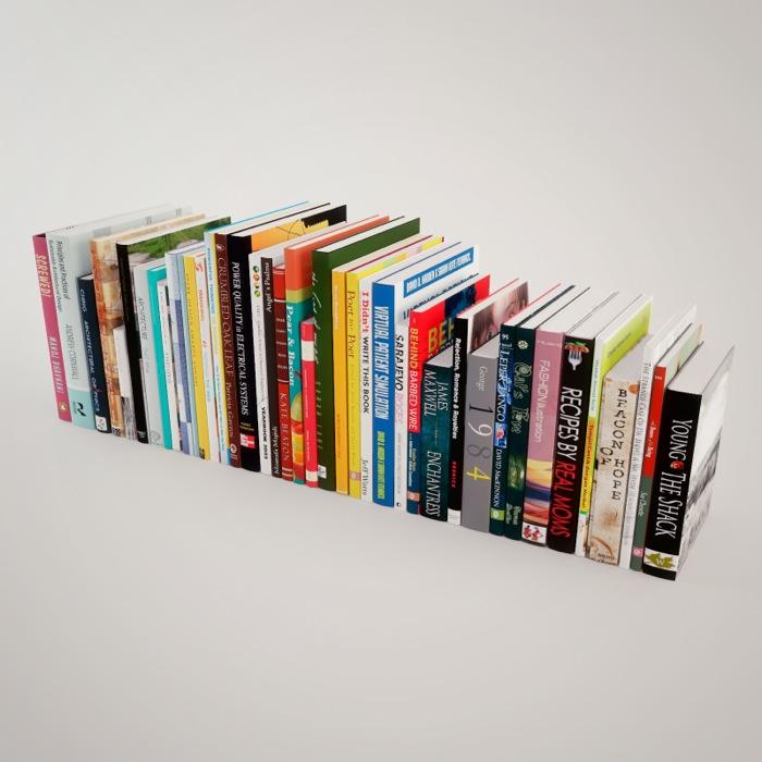 40 Texturas gratuitas de livros