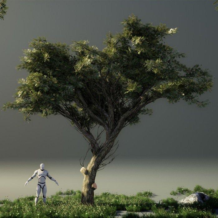 Árvores gratuitas para a Unreal Engine