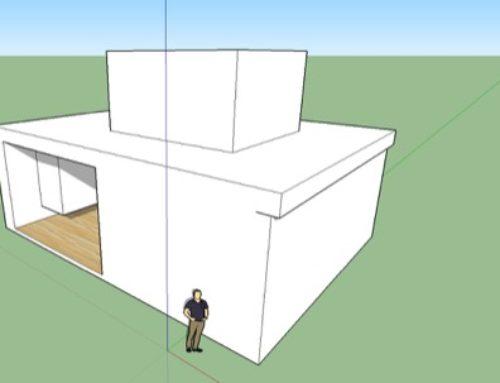 Configurando a luz do sol no SketchUp
