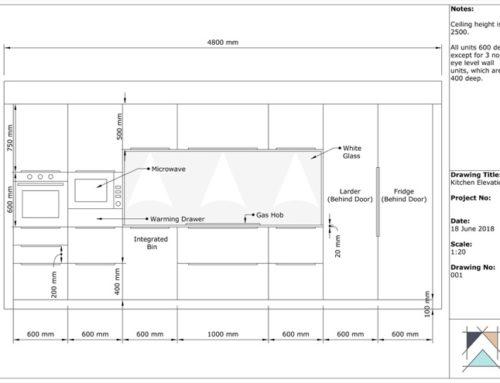Design de armários de cozinha com SketchUp