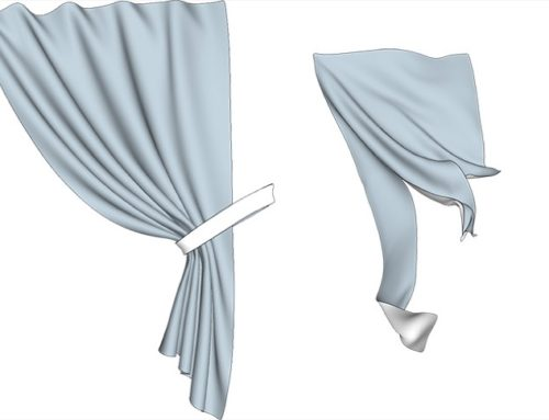 Plugin gratuito para SketchUp gera tecidos e cortinas