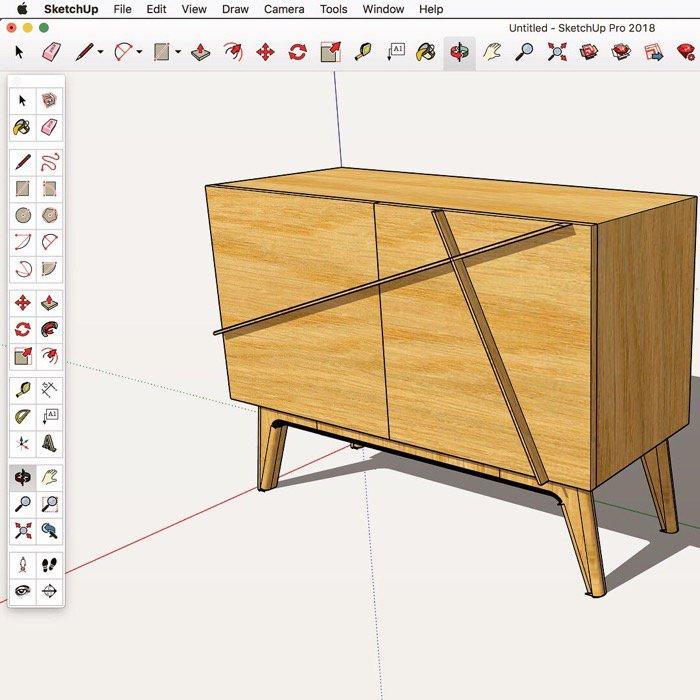 Design de móveis com SketchUp