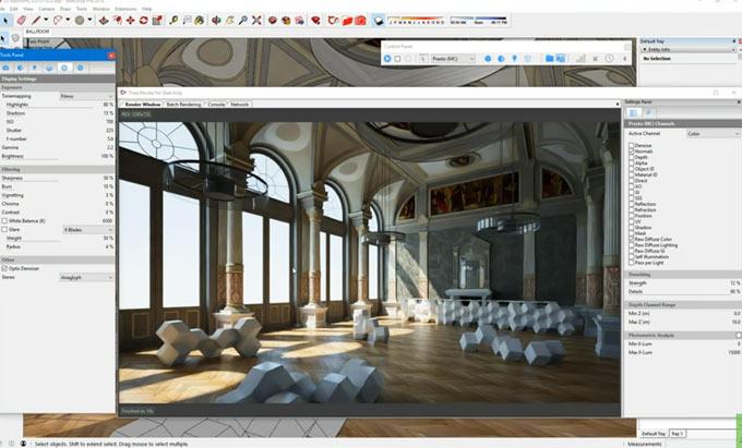 Thea render 2 para SketchUp