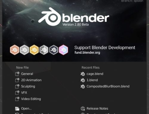 Blender 2.8 beta disponível para download