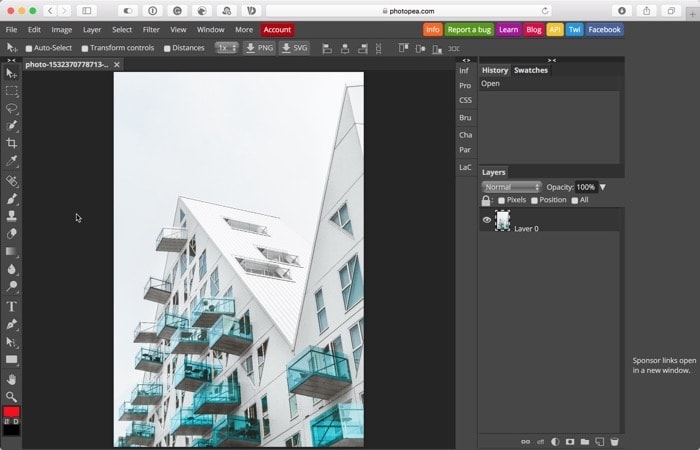 Photopea: Alternativa gratuita ao Photoshop