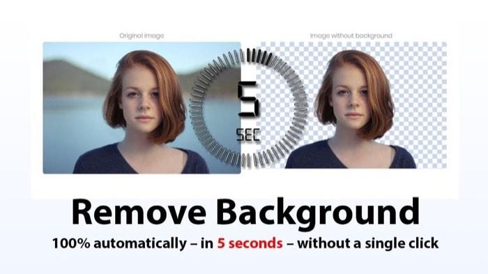 Remova o fundo de fotografias automaticamente