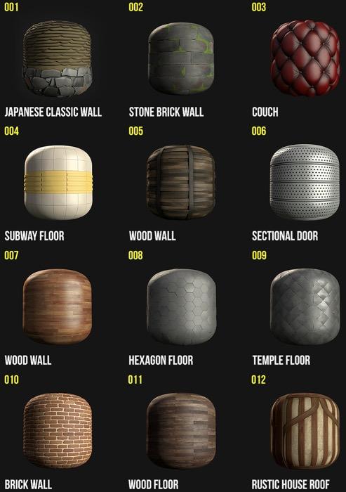 12 texturas gratuitas para jogos e arquitetura