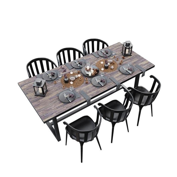 Download gratuito: Mesa de jantar completa em FBX ou OBJ