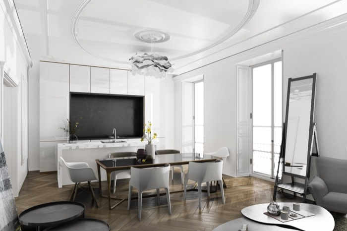 Blender Eevee para arquitetura de interiores