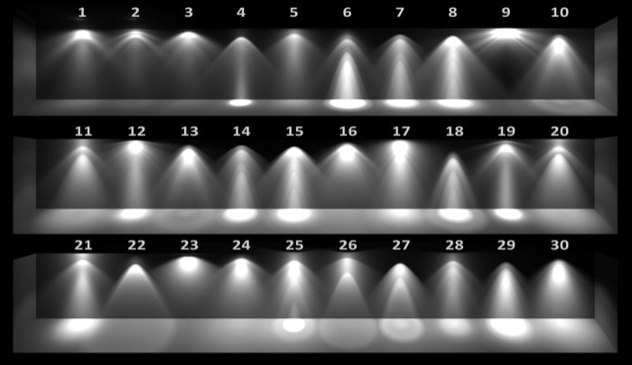 80 mil perfis IES gratuitos para iluminação em arquitetura