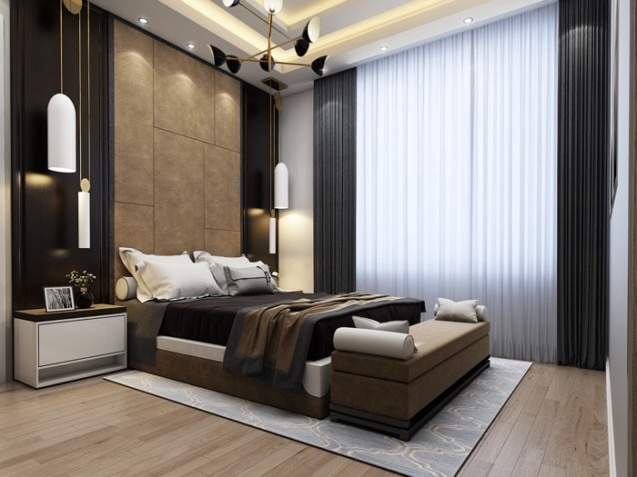 Quarto completo no SketchUp e V-Ray: Download gratuito