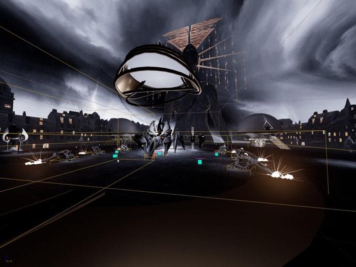 Singularity Jogo em VR criado com o Blender