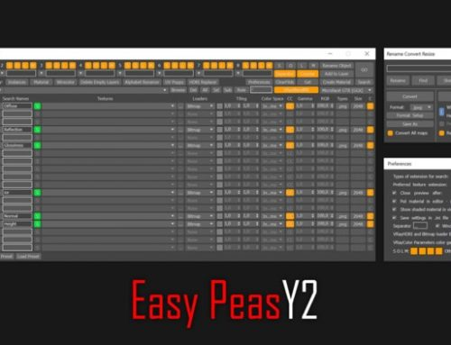 Easy Peasy 2: Download gratuito para 3ds Max