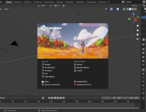 Blender 2.91 Beta disponível para download